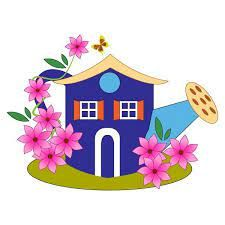 image maison fleurie