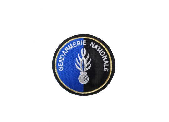 ecusson-de-bras-brode-gendarmerie-flamme